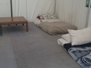 Tent beds