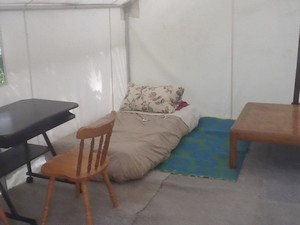 tent other bed